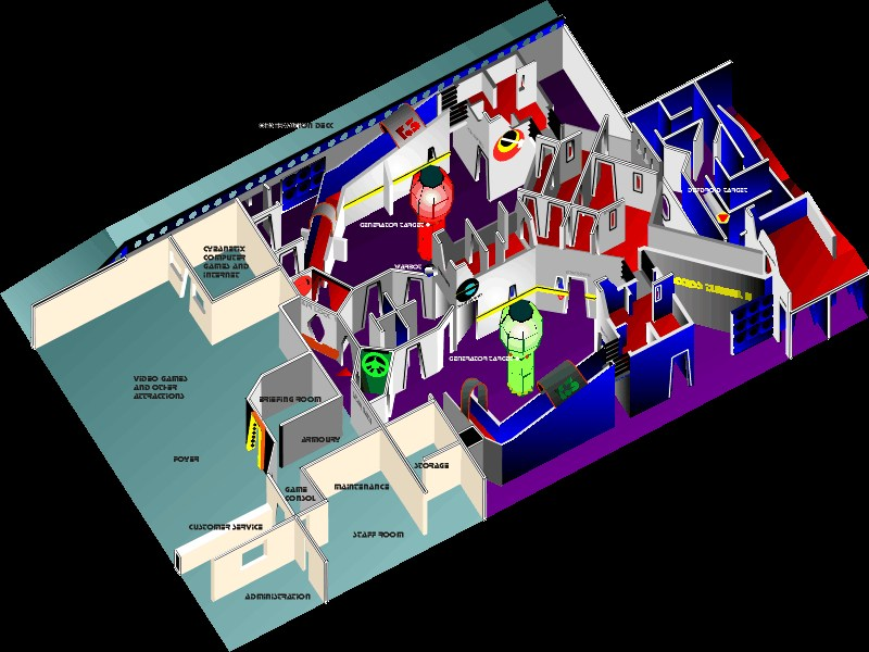 Best Laser Tag Floor Plan Images Flooring Amp Area Rugs