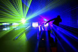 Bowling-or-laser