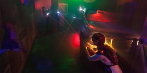 Laser Slider