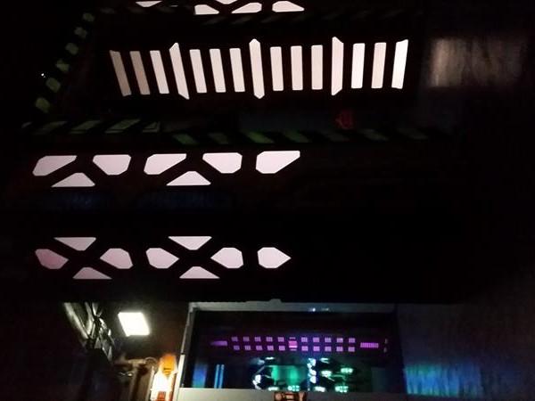 Laser tag casino